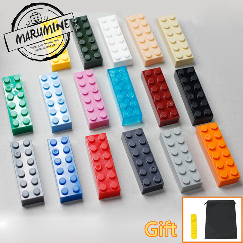 MARUMINE 2017 Brick  2 x 6 Block Toys For Building City Educational MOC Bricks Parts Classic Learning Set loz mini diamond block world famous architecture financial center swfc shangha china city nanoblock model brick educational toys
