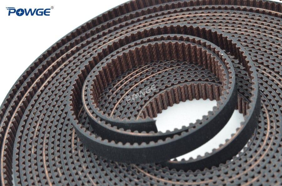 POWGE VORON imprimante 3D V2.1.2 pièces de mouvement de réglage GT2 LL-2GT RF 6/8/10M courroie de distribution ouverte 2GT 16T 20T poulie 110/188 courroie de boucle - 4