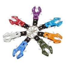 SEWS Climb Hook Carabiner Clip Lock Keyring Keychain Key Ring Colorful Durable Multifunction For Hiking Camping Climbing