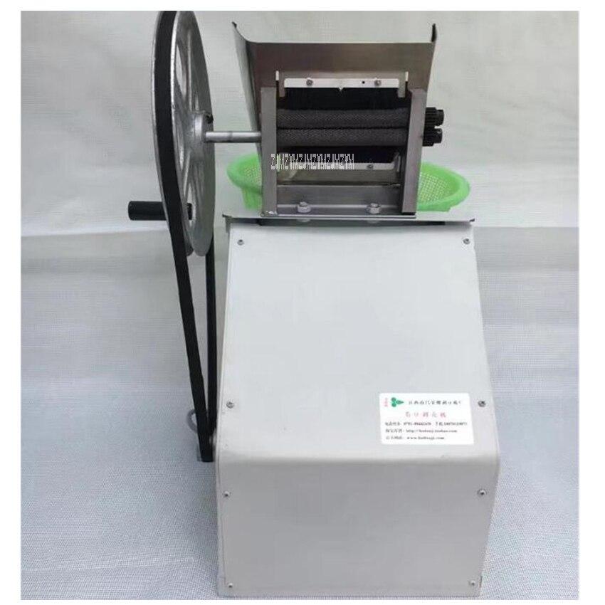 220V/50 Hz Semi-automatic stripping machine Soybean peeled machine Hand electric one machine Soybean production 3.5-5kg / h