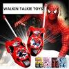 Hot Sale Spider Communication Toy Cartoon Walkie Talkie For Children Kids Gift Durable Handheld Open Area