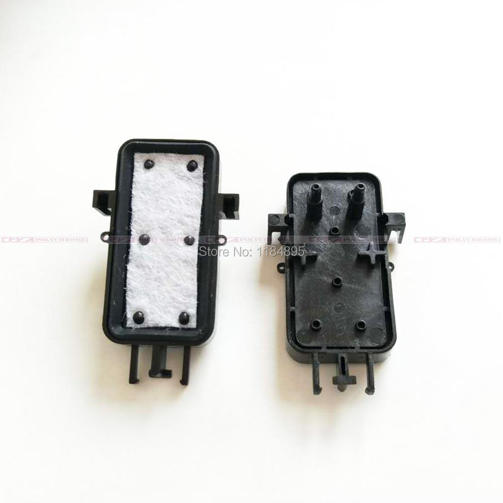ФОТО Print Head Cap for Epson 7600 Ink Pump Cap Top Station for Epson 9600 Cleaning Unit * 1 piece
