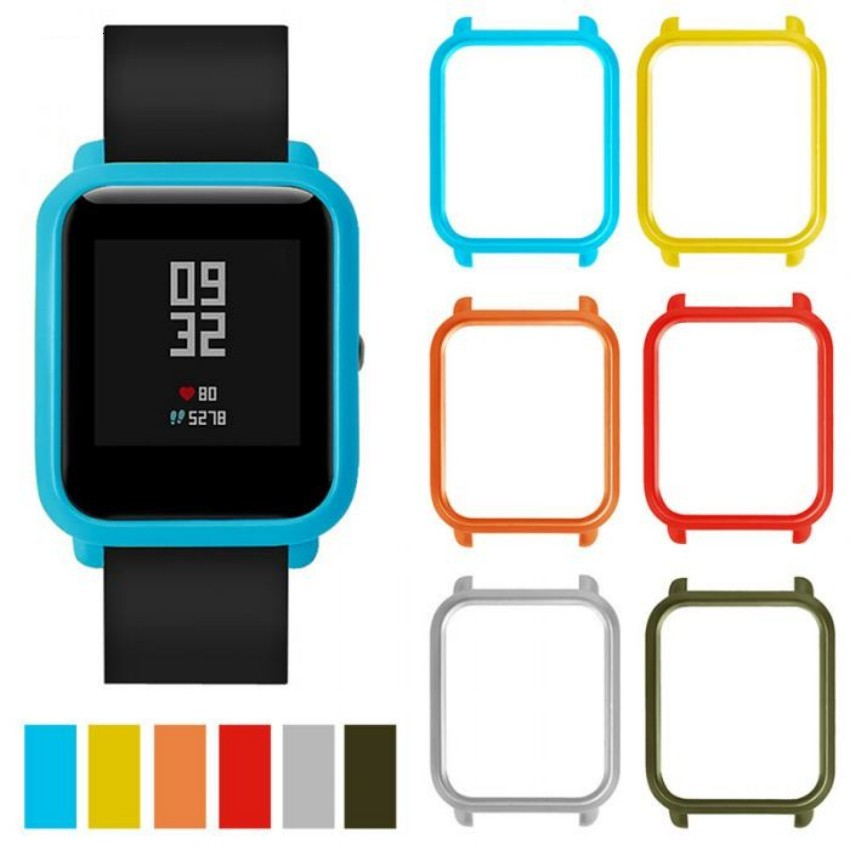 Protective Case Cover for Xiaomi Amazfit Bip BIT PACE Lite Youth Watch Hard PC Shell for Huami Amazfit Watch Accessories mijobs 20mm silicone wrist strap protective case cover plastic pc shell for huami xiaomi amazfit bip bit pace lite smart watch