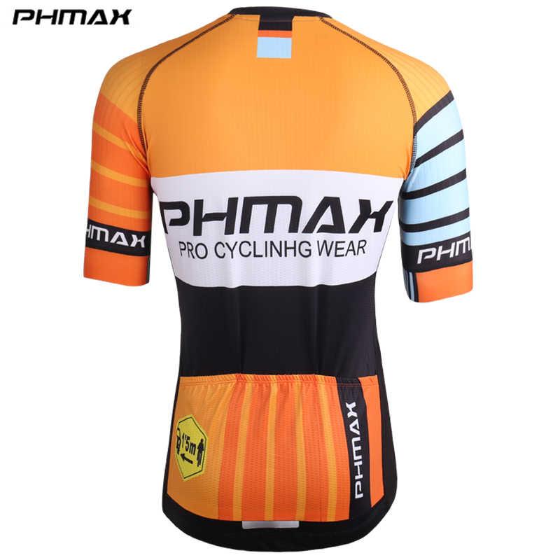 PHMAX быстросохнущая Джерси велосипедная летняя с коротким рукавом MTB Одежда для езды на велосипеде горные гонки велосипедная форма