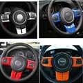 5 farbe slilver Lenkradbezug Trim für 2011-2016 Jeep Wrangler Jk Sahara Rubicon & Kompass & Patriot-Set