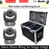 2pcs 90W LED Moving Head Light 3Face Prism Spot Light With Rotation Gobo Function For DJ