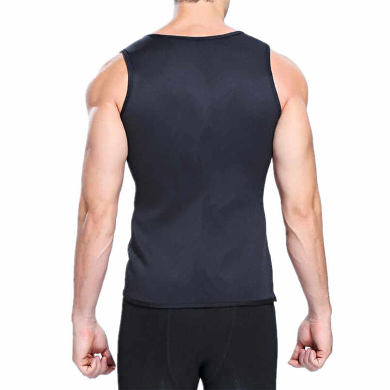 4666c3d107 ... Hot Shapers Slimming T-shirt Neoprene Shaper Men Slimming Vest Body  Shaper Corset Waist Trainer ...
