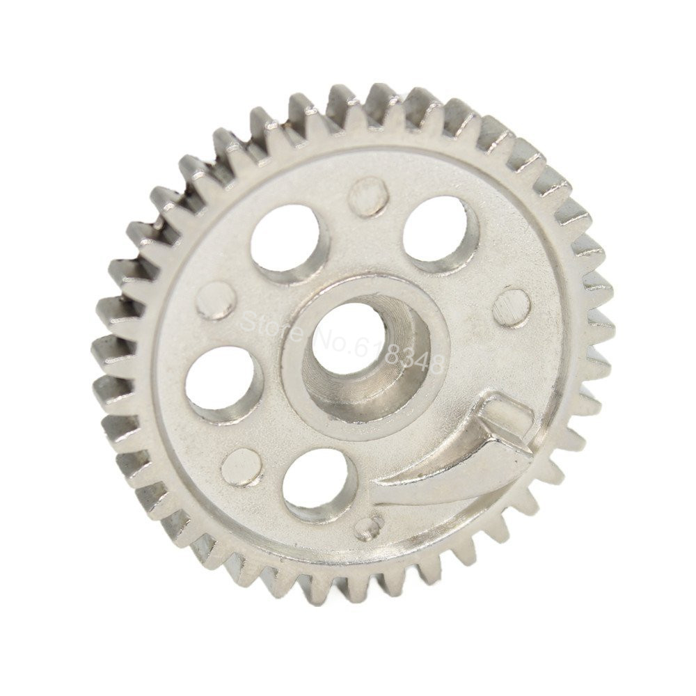 10pcs  02041 Steel Metal 39T Spur Gear Fit 2 speed RC Model Car For HSP SONIC XSTR POWER Redcat Lightning STR 1/10 On Road clutch bell double gears 16t 21t hsp 02023 1 10 nitro power rc car on off road buggy sonic xstr warhead fit redcat exceed