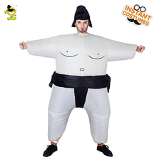 Adults Inflatable Sumo Suits Wrestler Cosplay Suits Wrestler In Halloween Party Imitation Fat Male Run Performance Sumo Costumes(China)