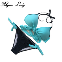 Rhyme Lady New Sexy Bikini Set Women Swimsuit Plus Size Swimwear Push Up Brazilian Bandage Bikini