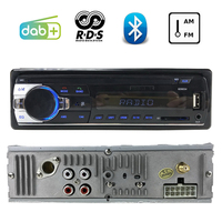 1 DIN Radio cassette player DAB+ USB SD Card Slot Stereo Car Radio Autoradio RDS Bluetooth Car Audio MP3 radio cassette player
