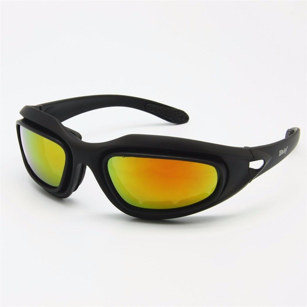 4 lentes, óculos de sol militar, para
