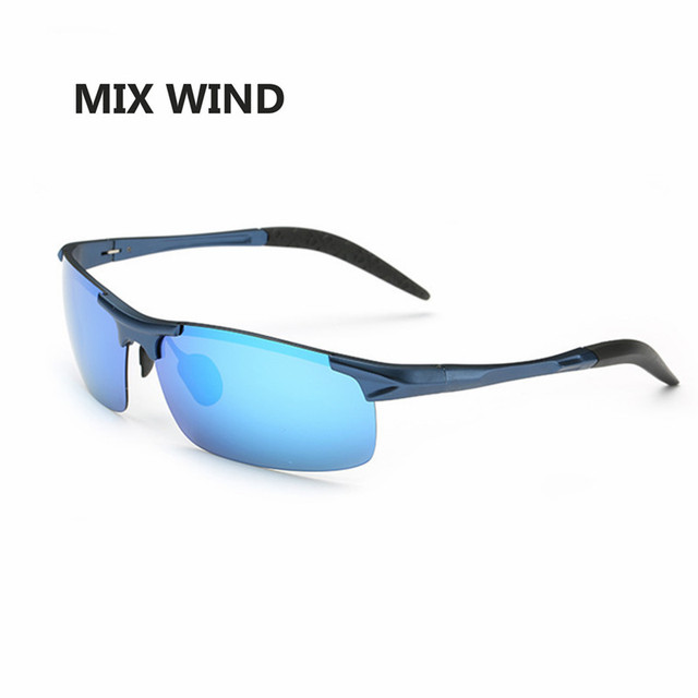 Best Outdoor Sports Sunglasses Polarized 2016 Cool Military Glasses for Police Biker Driving Aluminum Magnesium Alloy Frame