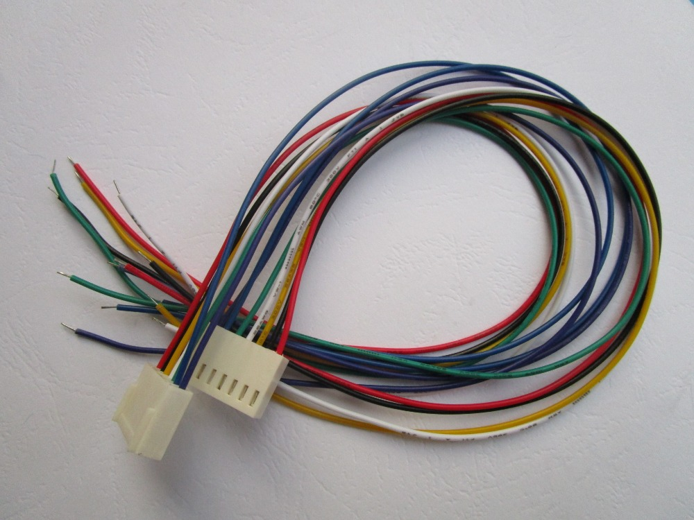 100 pcs Pitch 2.54mm 4 Pin 26AWG Jumper wire Female to Female 4 color 30cm 300mm