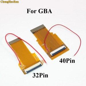 Image 1 - 1 PC החלפת 32Pin 40 פין עבור Gameboy Advance MOD LCD תאורה אחורית כבל סרט עבור GBA SP עם תאורה אחורית מסך Mod 32 P 40 P