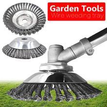 цена на lawn mower Stainless Steel Lawn Mower Grass Weed Trimmer Head Cutter Top mower Gardening Tool grass cutter mower