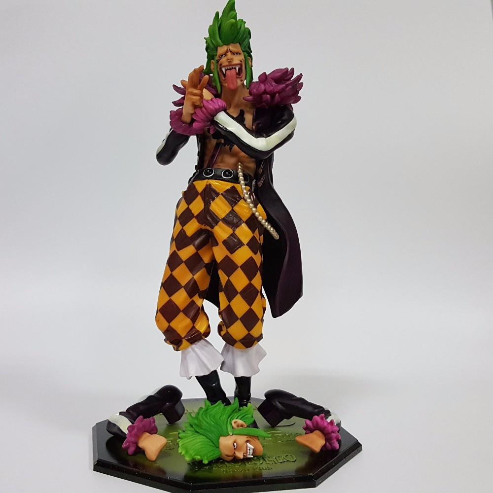 ФОТО One Piece Action Figure Bartolomeo PVC Figure Toy 230mm POP One Piece Bartolomeo Toys Japanese Anime Onepiece-Action-Figures