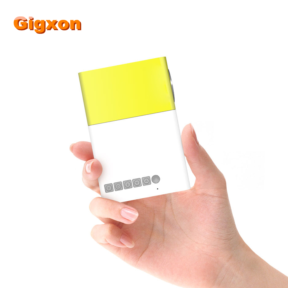 Gigxon g19 2016 new hot mini projector hd 1080p best gift for Best pocket projector for business