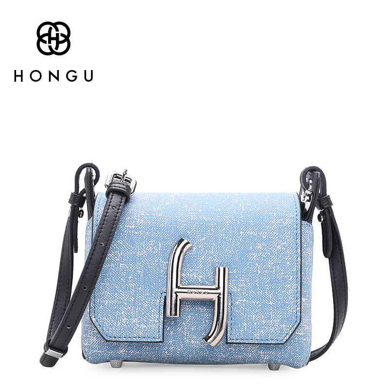 Hongu Genuine Leather luxury Handbags Women Bags Designer Refreshing Mini Cover Flap Bag Women Famous Brands Lady messenger Bags chispaulo women genuine leather handbags cowhide patent famous brands designer handbags high quality tote bag bolsa tassel c165