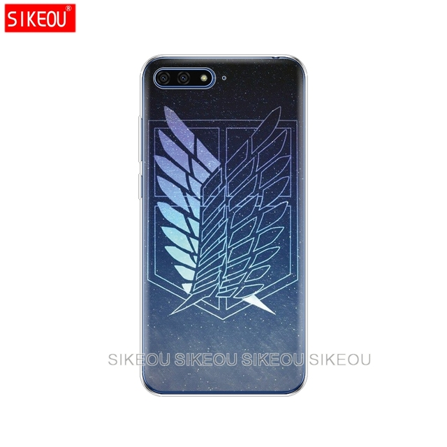 Attack on Titan Silicone Cover Case For Huawei Honor Models