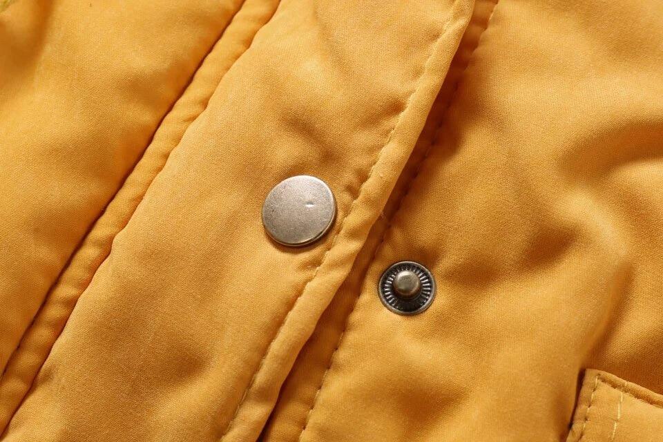 Women Parka Fashion Autumn Winter Warm Jackets Women Fur Collar Coats Long Parkas Hoodies Office Lady Cotton Plus Size