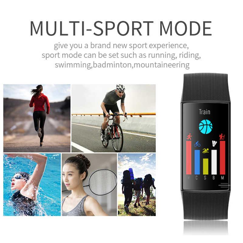 L8star スマートブレスレットマルチスポーツ血圧心拍数モニター歩数計フィットネストラッカースマート時計男性女性リストバンド