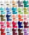 120 unids/lote Nuevo otoño invierno borla de lana de imitación de cachemir de color sólido pashmina bufanda