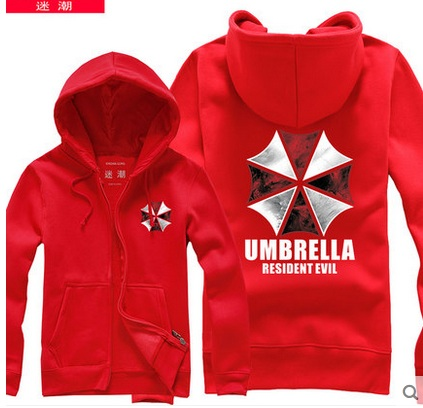 Free Shipping 2015 New Winter Resident Evil Hoodies Cosplay Costume