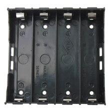 トップセール10xバッテリーホルダーボックスケースブラックのための4 × 13.7v 18650バッテリー