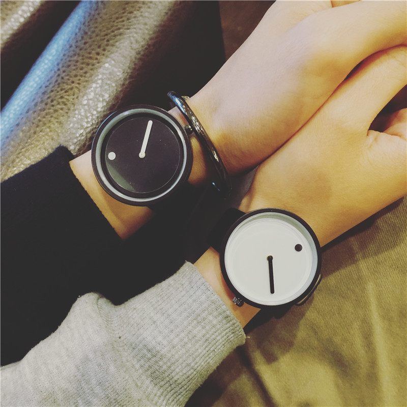 Super Simple Creative Personality Pointer Watches New Fashion Concept Design Watch BGG Brand Men Women Quartz Clock Wristwatches south korea creative concept fashion personality women men couple watches new trend minimalist gift watches