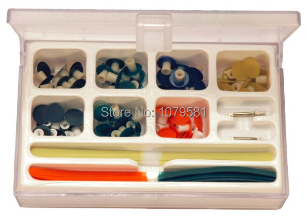 ФОТО POLIDONT COMPLETE KIT FOR COMPOSITE RESIN POLISHING IN DENTAL IN ORAL HYGIENE