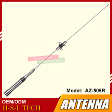 цена на Dual-Band 144/430MHz High Gain Car Aerial VHF/UHF  For Mobile Car Walkie Talkie 136-174/400-470MHz Antenna For Communication