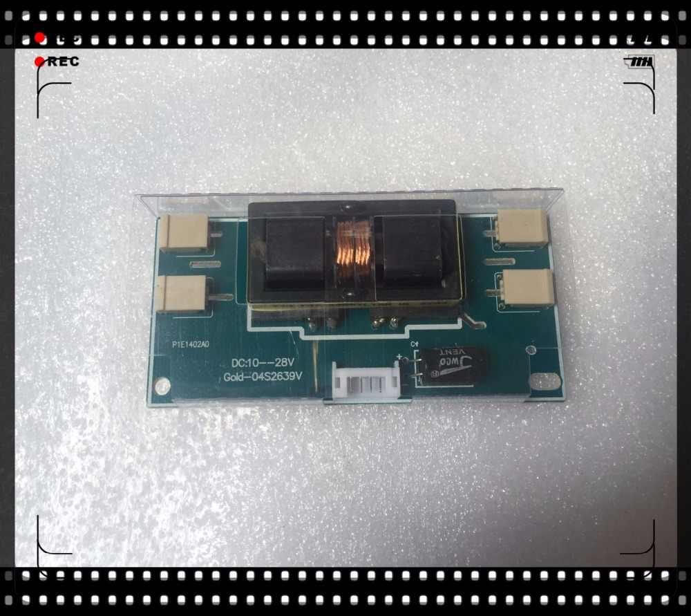 小さなボリューム一般4ランプ小さな口液晶高電圧ボードGOLD-04S2639V dc: 10-28ボルトインバータ