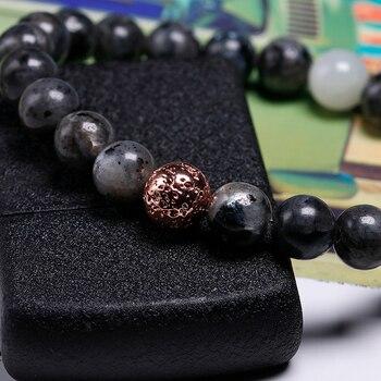 Bracelet 8 mm Labradorite