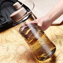 Super Large Capacity Sport Water Bottle Portable Plastic Bic