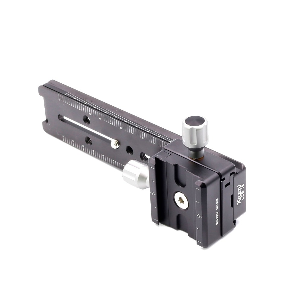 69b6042f712f Aliexpress.com   Buy XILETU LCB 18B Track Dolly Slider Focusing Focus Rail  Slider   Clamp and QR Plate Meet Arca Swiss For DSLR Camera Canon from  Reliable ...