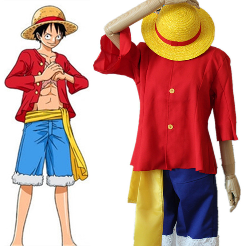 Novelty & Special Use Cosplaydiy Custom Made Anime One Piece Movie 10 Strong World Cosplay Monkey D Luffy Costume Outfit Costume L320 Costumes & Accessories