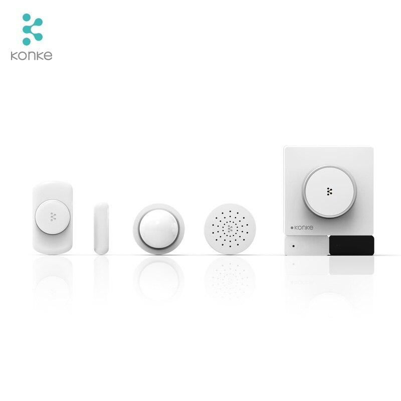 Konke Multifunktionale Gateway Hub zigbee Temperatur Feuchtigkeit Sensor Menschlichen Körper Sensor Drahtlose Schalter Smart Home Kit für xiaomi - 5