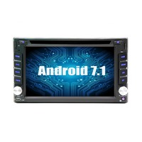 2 DIN universal pure Android 7.1 GPS Wifi 3G Bluetooth radio GPS car for nissan DVD player car stereo Bluetooth rado