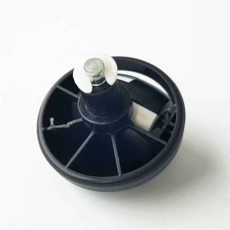1x front Wheel Caster Assembly for ECOVACS <font><b>DEEBOT</b></font> Slim 35 45 M80 Pro M81 <font><b>M82</b></font> M85 M88 N78 N79 R95 R96 R98 Robotic Vacuum Cleaner image