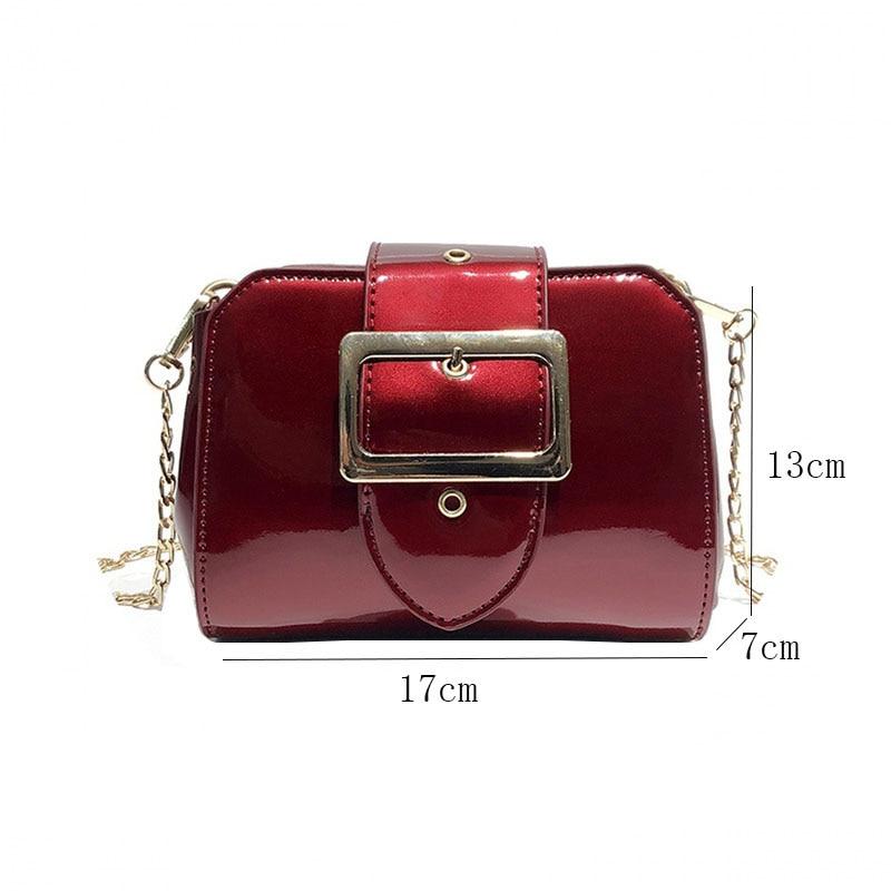 Donne Black Delle Sacchetti Marca Color Frizione Modo Qualità Borsa Disegno Bagss A Nuova Lucido Borse Spalla silver Viso Di Tracolla Sacchetto Red Alta wine HfdqSq5xw