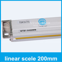 Free shipping lathe digital readout factor Rational WTB1 0.001mm 200mm linear encoder for milling machine CNC