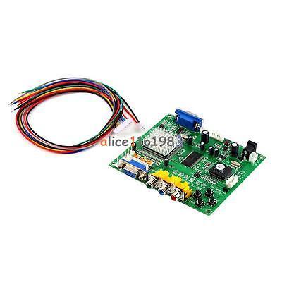 Аркада RGB/CGA/EGA/YUV к VGA HD Video Converter Совета HD9800/GBS8200
