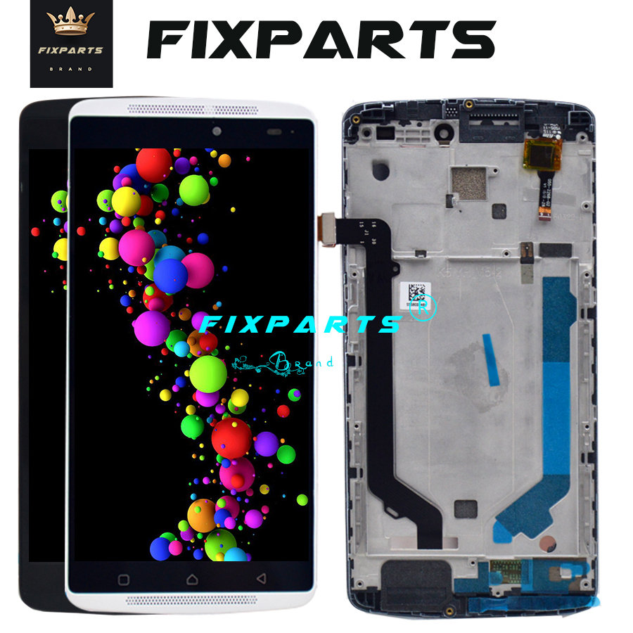 Hot Black LCD Lenovo A7010 LCD Screen Display With Frame Touch Panel Digitizer Assembly Repalcement Parts Lenovo K4 Note LCD