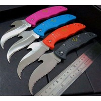 C10 Folding Knives C10S SBK2 CS GO Karambit Knife VG10 Serrated Blade Knife Tactical Hunting Tools