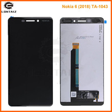Original For Nokia 6.1 LCD Display Touch Screen Panel For Nokia 6.1 2018 LCD Digitizer Assembly Replacement Repair Spare Parts