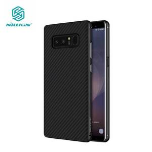 Image 1 - Nillkin sFor Samsung Note 8 Case Note8 Cover Synthetic Fiber Hard Carbon Fiber PP Plastic Case For Samsung Galaxy Note 8