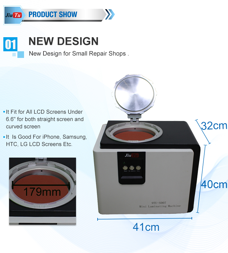 9TU-S007 LCD Touch Screen Repair Automatic Bubble Removing Machine (3)