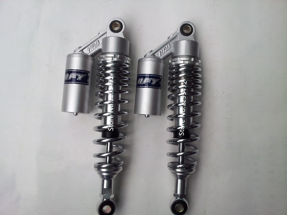 2 pieces 320mm chrome Motorcycle Rear air Shock Absorber For YAMAHA SR400 xjr400 HONDA CX500 CB400