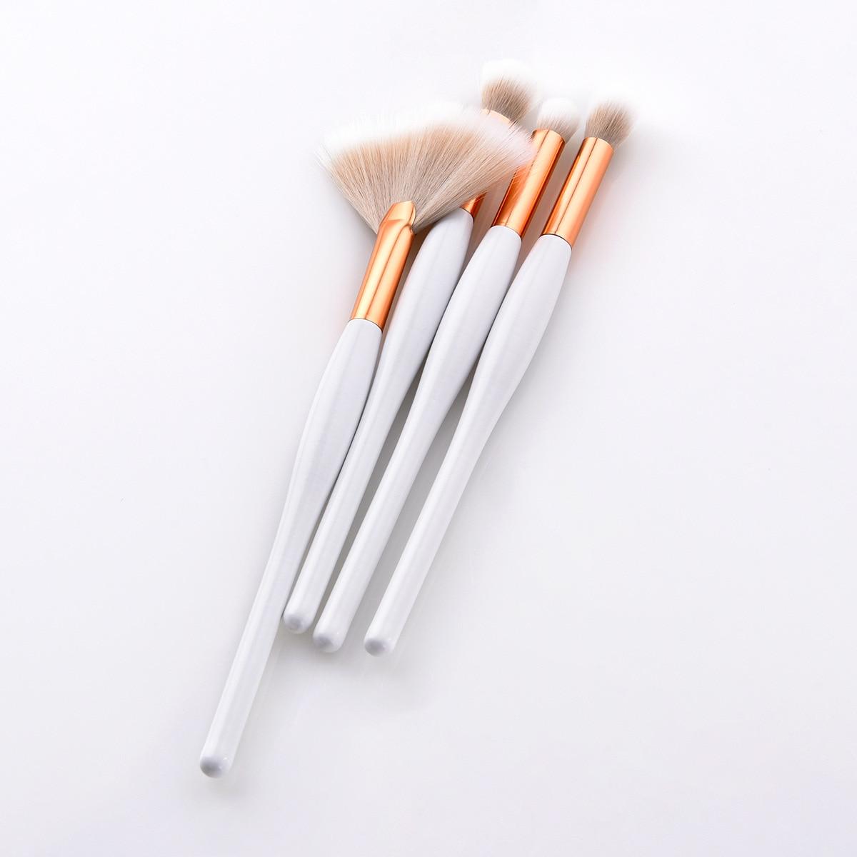 Tesoura de Maquiagem de beleza chama fã pó Handle Material : Natural Wood High Quality
